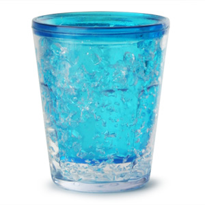 Sub Zero Freezer Shot Glass Blue 1.75oz / 50ml