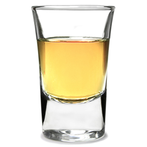 Junior Grappa Tot Shot Glasses 1.2oz / 35ml