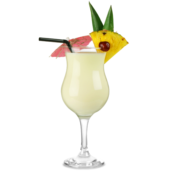 Capri Pina Colada Glasses 13.4oz / 380ml | Poco Grande Glasses ...