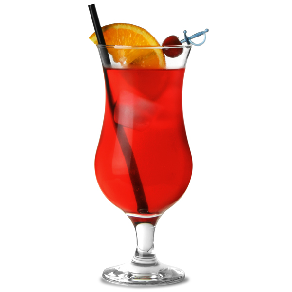 Entertain Hurricane Cocktail Glasses 14.8oz / 420ml | Stemmed Cocktail ...