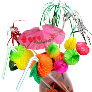 Fiesta Cocktail Decoration Party Set