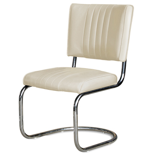 Cadillac Diner Chair Off White