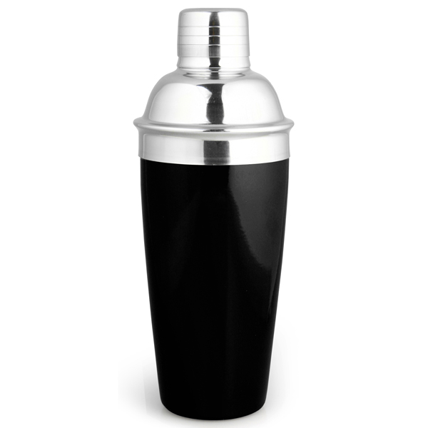 Black Cocktail Shaker | Drinkstuff