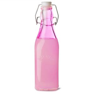 Kilner Clip Top Bottle Pink 250ml