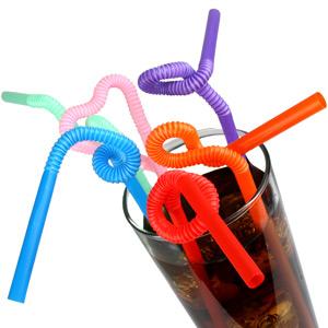 Super Bendy Straws 11inch