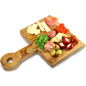 Rough Stuff Oak Spade Food Board 33cm