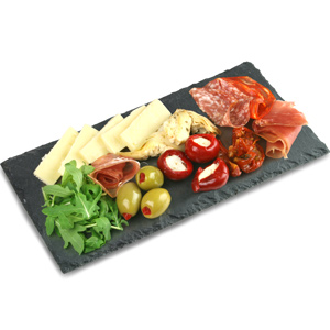 Small Rectangular Slate Platter 25 x 13cm