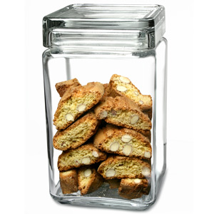 Landmark Square Biscotti Jar 1.5ltr