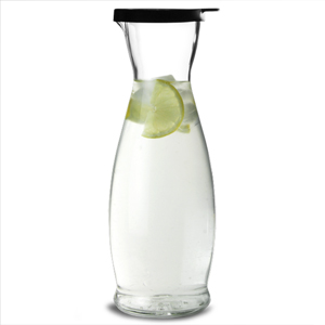 Indro Carafe with Black Cap (35.2oz / 1ltr)