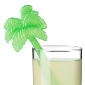 Palm Tree Ice Stirrers
