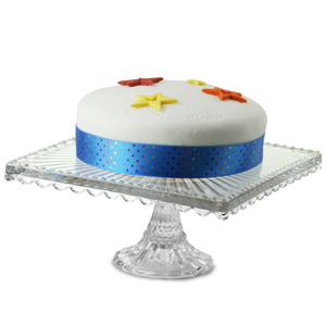 Artland Small Square Cake Stand