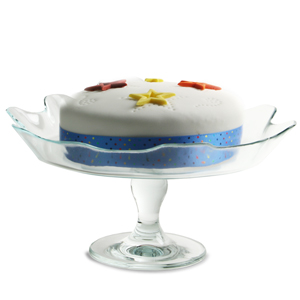 Entertain Glass Cake Plate
