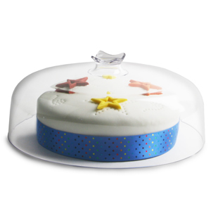 Clear Dome Board Topper 26cm