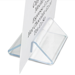 Perspex Tent Type Menu Holder