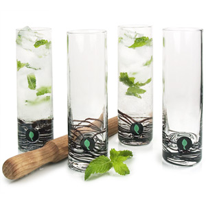 Luxury Mojito Glass 5 Piece Set