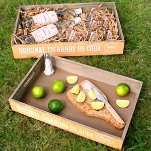 Mexican Style Nesting Trays Original Ciggaros De Cuba