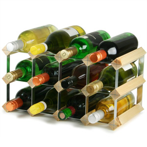 Traditional Wooden Wine Racks - Pine