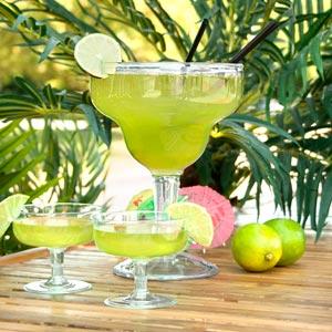 Super Margarita San Glass 36oz 11ltr Single