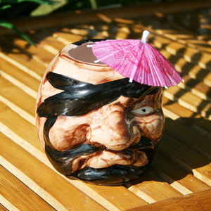 Pirate Tiki Mug 16oz / 470ml