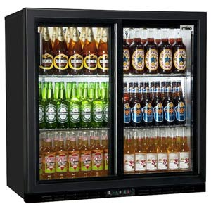 Rhino GreenSense Plus Monaco 900S Glass Sliding Door Bottle Cooler