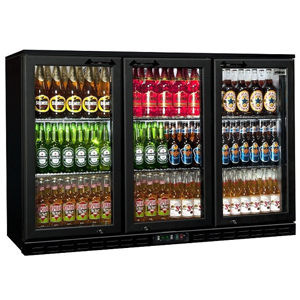 Rhino GreenSense Plus Oslo 1350H Glass Hinged Door Bottle Cooler