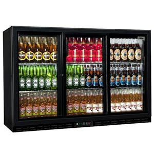 Rhino GreenSense Plus Oslo 1350S Glass Sliding Door Bottle Cooler