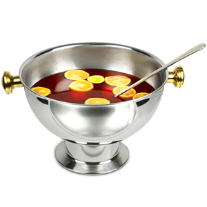 Stainless Steel Punch Bowl 475oz / 13.5ltr