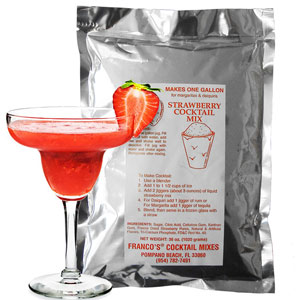 Franco's Strawberry Cocktail Mix 1.02kg
