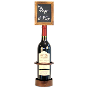 Wine Bottle Chalk Board Stand
