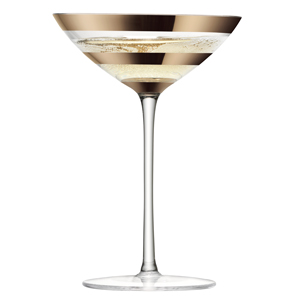 LSA Garbo Champagne & Cocktail Glasses 5.25oz / 150ml