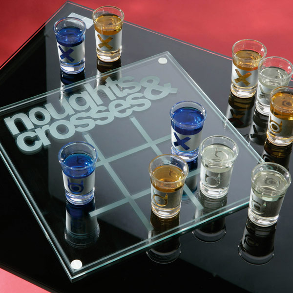 Noughts Crosses Drinking Game