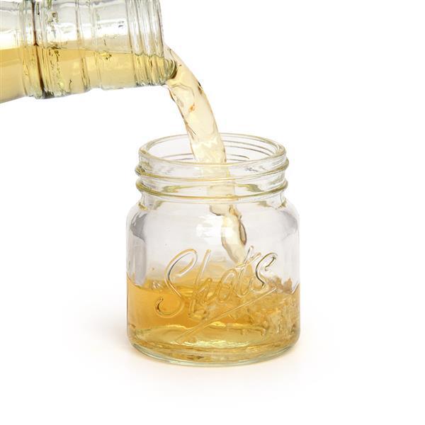 Mason jar shot glasses 2oz 60ml drinkstuff - Mason jar goblets ...