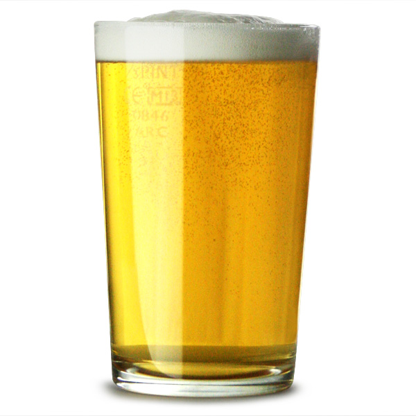 Conique Third of a Pint Glasses LCE at 6.7oz / 190ml ...