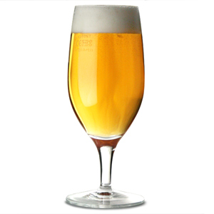 Drink Stemmed Beer Glasses 13oz LCE at 10oz