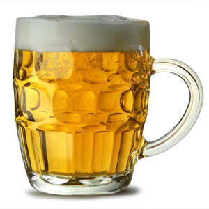 Traditional Glass Pint Tankards CE
