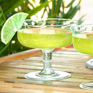 Disposable Margarita Glasses Clear 6.3oz / 180ml
