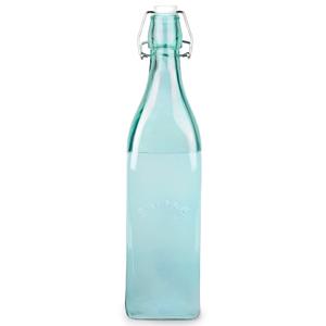 Kilner Clip Top Bottle Blue 1ltr