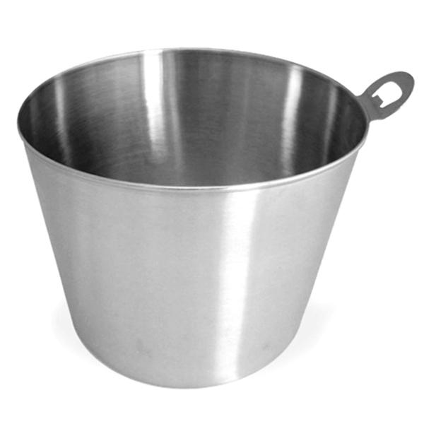stainless steel beer bucket with integral opener beer cooler beer bottle bucket buy at. Black Bedroom Furniture Sets. Home Design Ideas