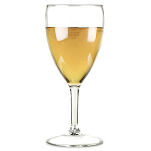 Elite Premium Polycarbonate Wine Glasses 14oz LCE at 250ml