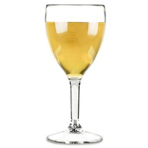 Elite Premium Polycarbonate Wine Glasses 9oz LCE at 125ml & 175ml