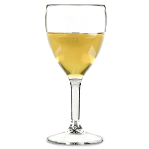 Elite Premium Polycarbonate Wine Glasses 9oz LCE at 125ml