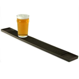 Rubber Bar Mat Brown 68 x 8cm