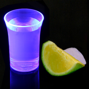 Econ Neon Purple Polystyrene Shot Glasses CE 1.25oz / 35ml