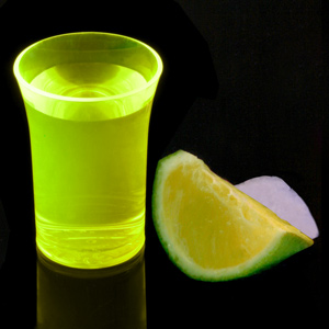 Econ Neon Yellow Polystyrene Shot Glasses CE 1.25oz / 35ml