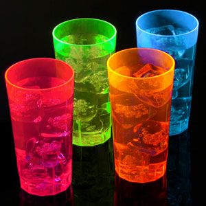 Neon Reusable Half Pints CE 10oz / 285ml