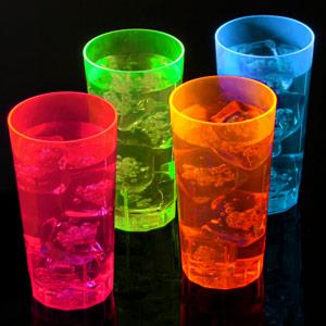 Neon Reusable Half Pints Ce 10oz 285ml Case Of 100 Mixed Colours