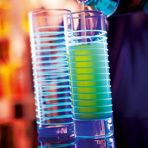 Black Light Hiball Glasses 10.9oz / 310ml