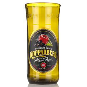 Recycled Kopparberg Bottle Pint Glass 20oz / 568ml