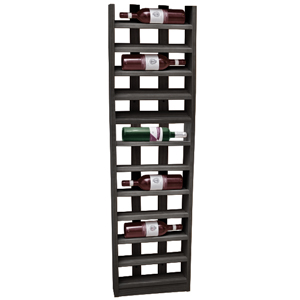 Scallop Wine Rack Black Ash 12 Bottle