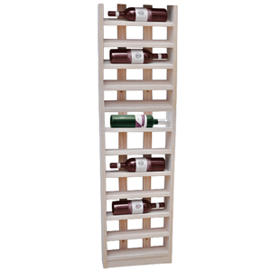 Scallop Wine Rack Pine 12 Bottle